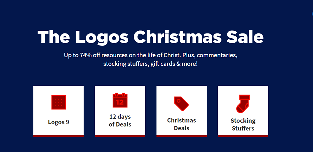 Logos 12 Days of Christmas Sale