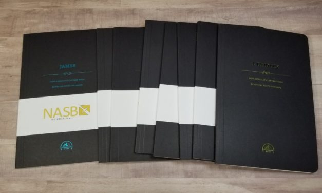 NASB Scripture Study Notebooks