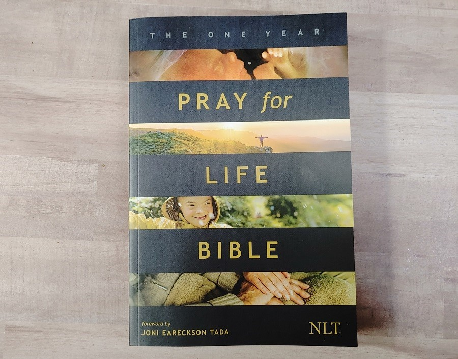 Pray for Life Bible Cover