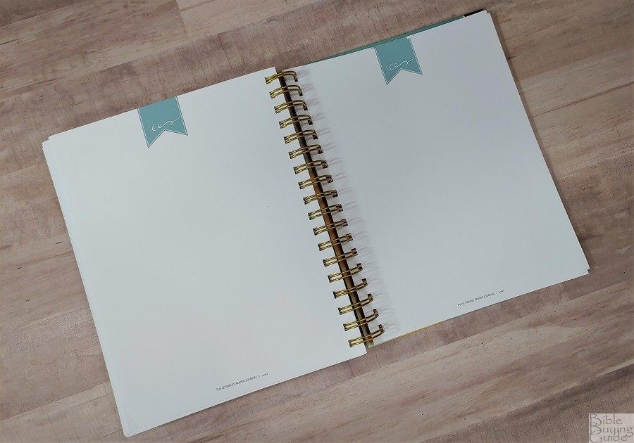 Lettering Prayer Journal blank pages