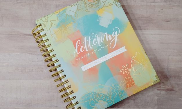The Lettering Prayer Journal Review