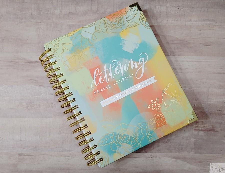 Lettering Prayer Journal Cover