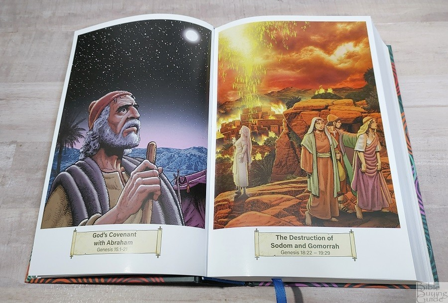 NASB Children's Edition Bible Artwork