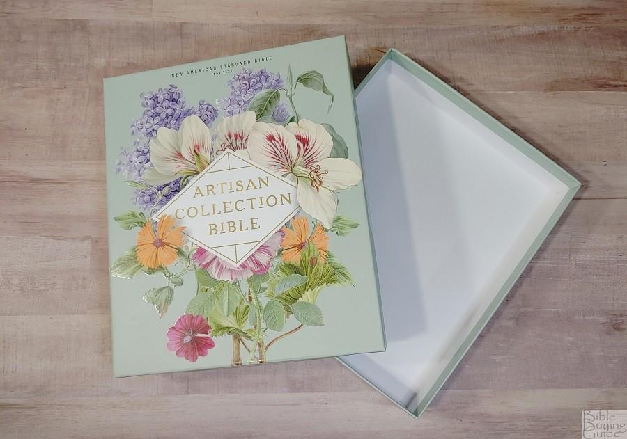 NASB Artisan Collection Bible Box