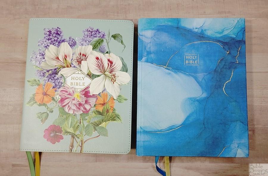 NASB and NIV Artisan Collection Bibles Covers