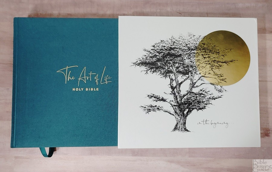 NLT Art of Life Bible Cover and Slipcase