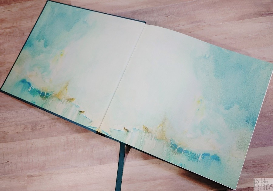 NLT Art of Life Bible Endpapers
