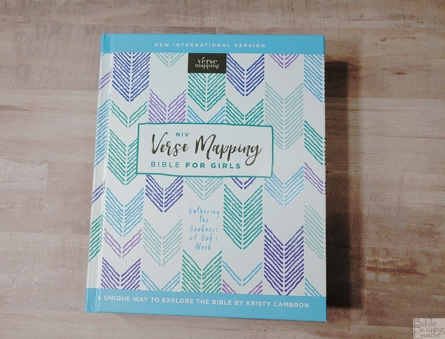 NIV Verse Mapping Bible for Girls Cover
