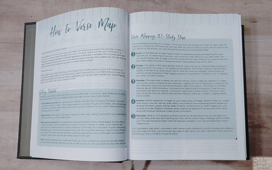 NIV Verse Mapping Bible How To