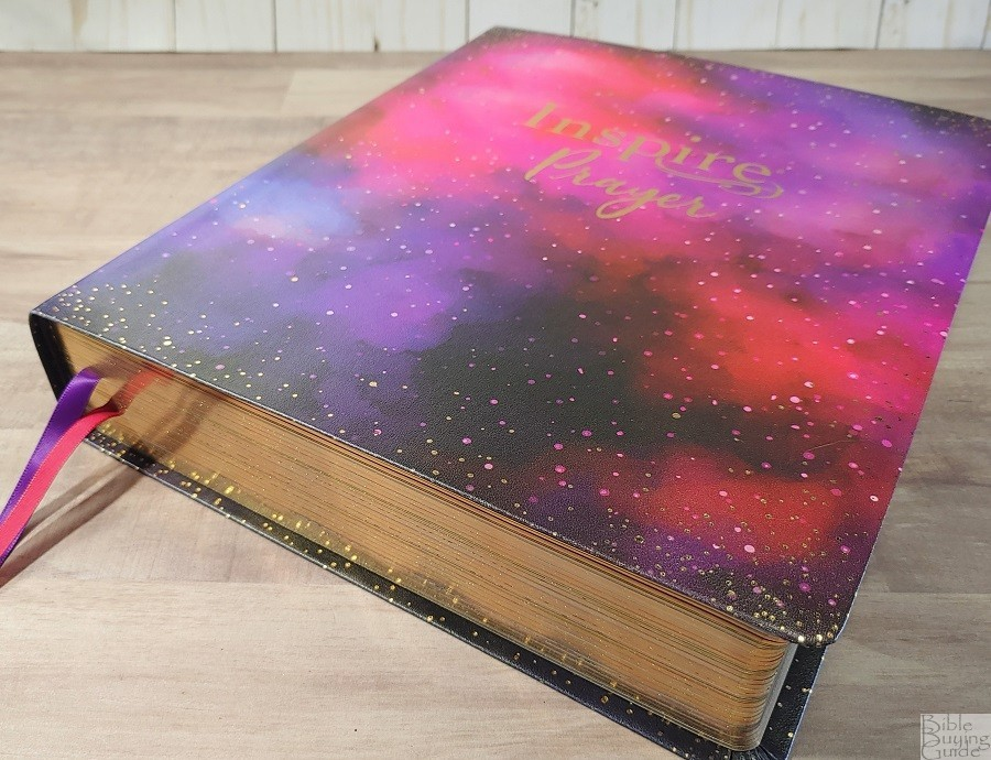 Giant Print Inspire Prayer Bible Cover