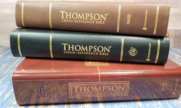 Zondervan's Thompson Chain Reference Bibles