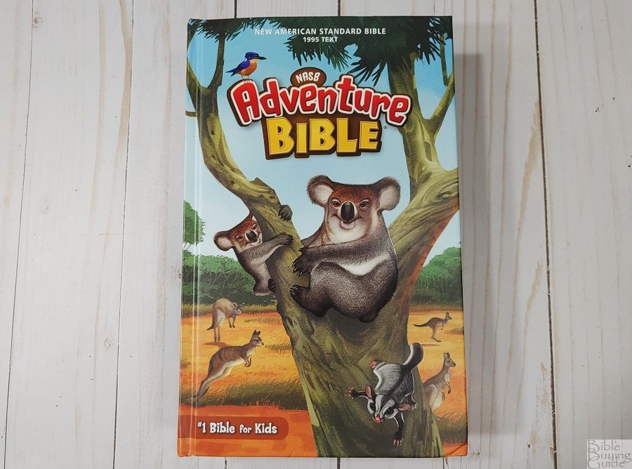 NASB Adventure Bible Cover