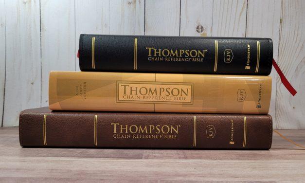 Zondervan's KJV Thompson Chain Reference Bibles