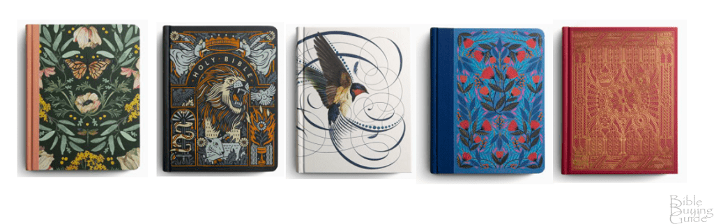 Multiple Covers for ESV Artist Series Journaling Bible