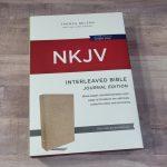 NKJV Interleaved Bible Journal Edition