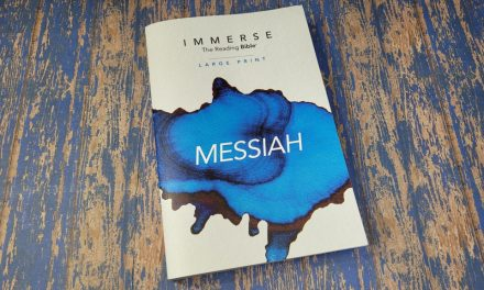 Immerse Messiah Large Print Bible Review